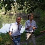 Barbara und ich bei einem Seminar der Stmk. Berg- und Naturwacht