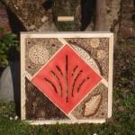 Insektenhotel Quadrat (50x50cm)