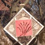 Insektenhotel Karo  (50x50cm)